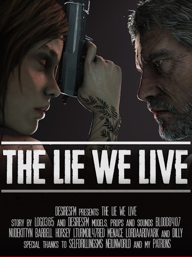 The Lie We Live 3D Porn