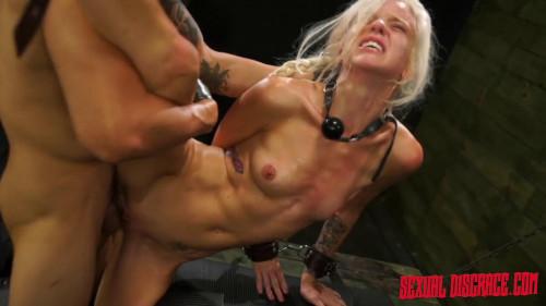 Stupid Slave Halle Von Spanked & Punished Hard