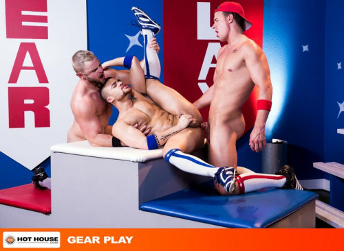 hh - Gear Play: Nick Sterling, JJ Knight & Beaux Banks Gay Clips