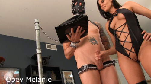 Obey Melanie - Cumming Maid Easy Femdom and Strapon