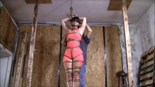 Yvette Costaeu Takes On The Rope Challenge BDSM