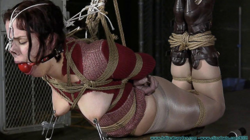 string - Cherry Doll Caged, Walked, Clamped, Groped, Spanked, crotchRoped, Hogtied – Part 2