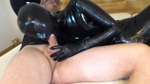 Tight bondage, domination and torture for horny slut in latex HD 1080p BDSM Latex