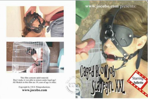 Caged Blowjob Slave Girl XXL BDSM