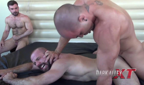 Fucking cum-hungry bottoms Gay Full-length films