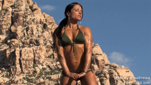 Macey Boudreau - Fitness Model Female Muscle