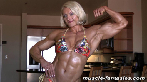 Brigita Brezovac Female Muscle