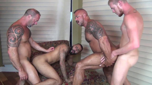 Mature Breeders In Bareback Orgies With DOUBLE PENETRATION