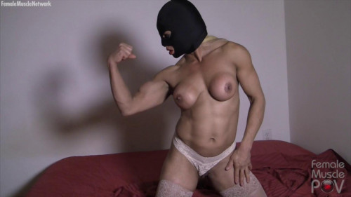 Slave Lauren - Pov Worship, Toy Ploy, and Fucking Female Muscle
