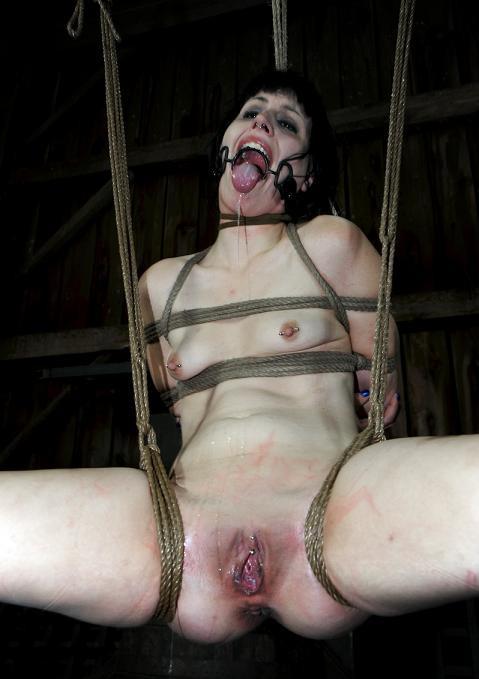 Hard bondage play