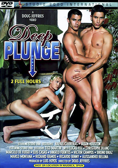 Deep Plunge With Hung Men - Rafael Carreras, Jason Houston, Lucas Foz