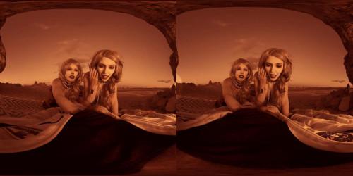 Britney Amber & Lauren Philips (SpaceXXX 3D stereo