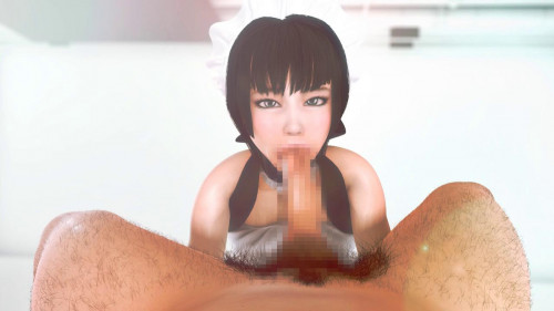My maid related on my dick 3D Porno