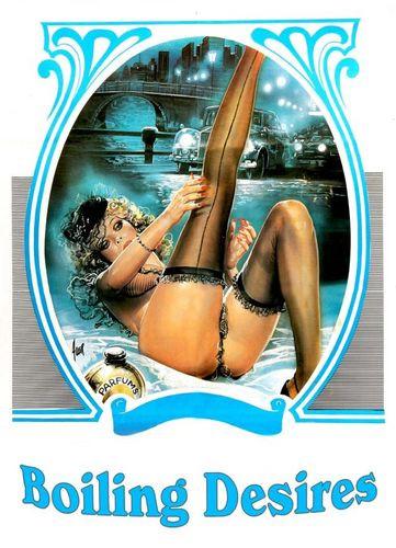 Boiling Desires (1987) - Candie Evans, Bunny Bleu Retro