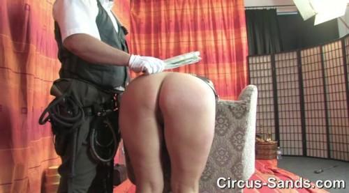 Newspaper spanking Yvette Costeau
