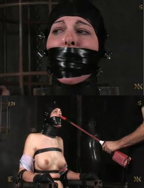 Tight bondage, domination and torture for naked slavegirl