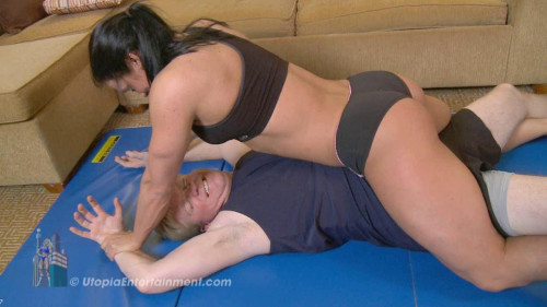 Jennifer Scarpetta - A Wrestling and Lift & Carry Session with Scar! Female Muscle