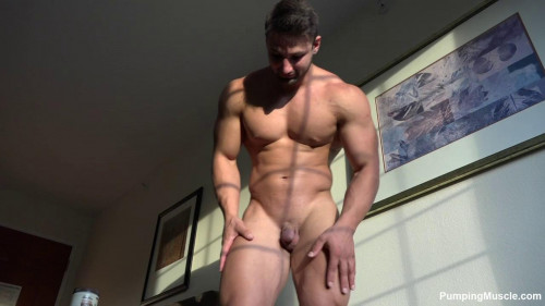 Pumping Muscle - Devon S 1st Photoshoot Gay Unusual