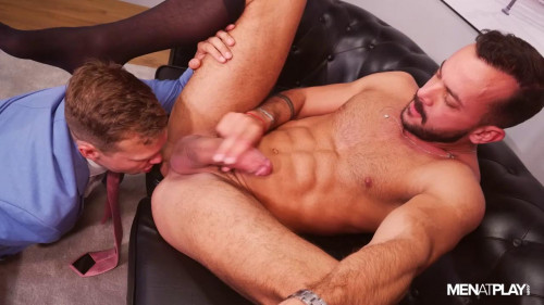 Benefit Of Working Late - Ethan Chase and Sir Peter 720p