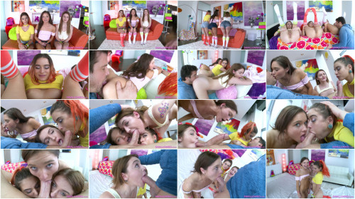 Blowjob Audition With Zoe, Pamela, And Rosalyn