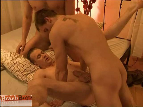 Morning Gay Sex With Two Gay Hunks
