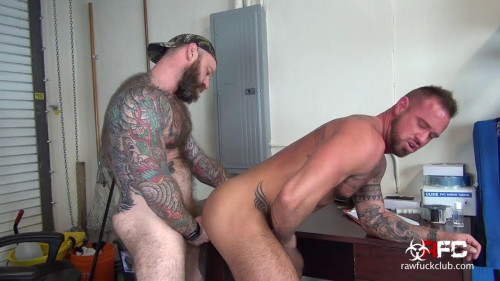 Raw Fuck Club - Jack Dixons and Michael Roman 720p Gays