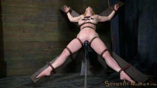SB - Tiny Casey Calvert is inverted, skull fucked, pussy fucked... - Apr 3, 2013 - HD