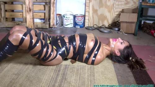 Crotch Roped Then Crotch Taped - Chi Chi Medina - Scene 3 - HD 720p
