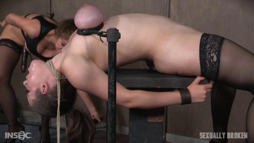 Iona Graces Big Natural Breasts Bound As She Is Throatboarded Made to Cum! Part One (2016)