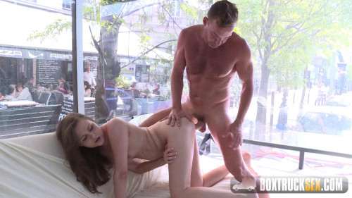 Liza Shay - Box Truck Sex (2016) Public sex
