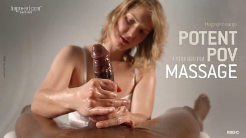Potent POV Massage Masturbation