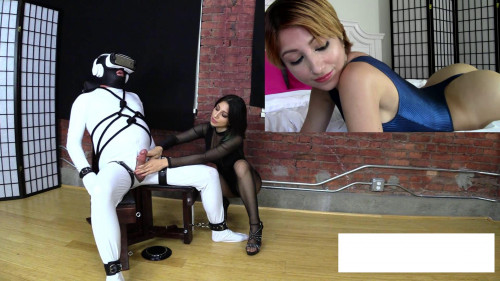 Slaves Brain Turned to Mush in VR by Sexy Asses Multi Ruin Handjob