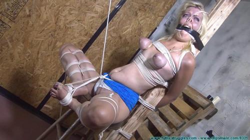 Extreme - Helpless Captive Gets Painful Bondage Torture. Part#2