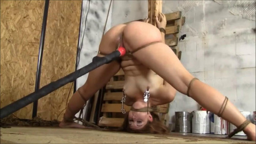 Super tying, hog tie and punishment for concupiscent hawt doxy Full HD 1080p