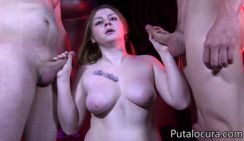 Welcome Blowbang For Big Tits Slut Morgana
