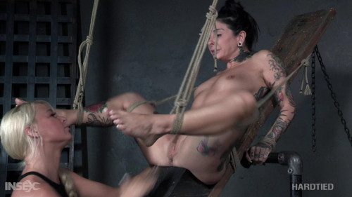 This is some girl on girl action fit for the gods. BDSM