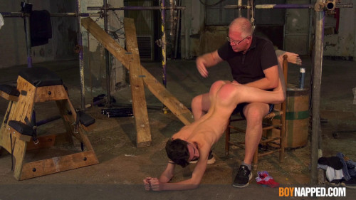 BoyNapped Hung Twink Gets Well Used - Part 1 Gay BDSM