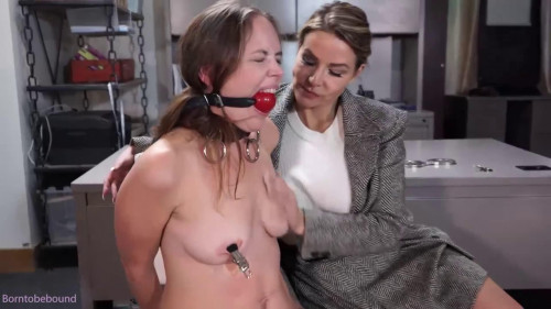 Bondage, domination and hog tie for nude beauty part 2 HD 1080