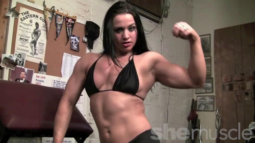 Too Sexy For Her Shirt Female Muscle