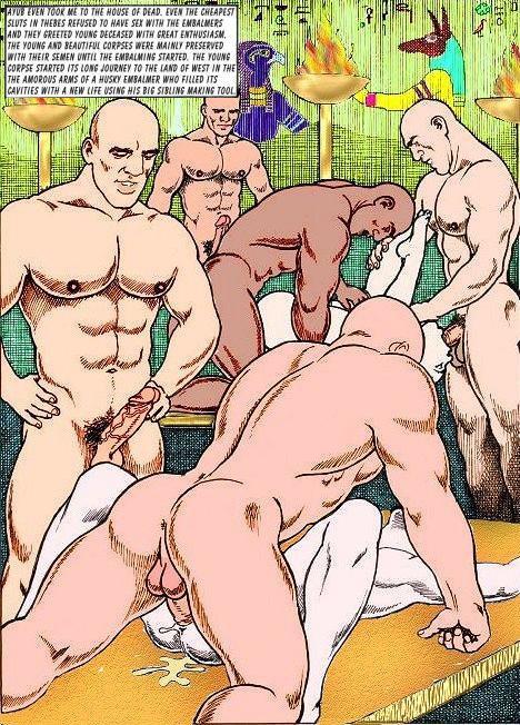 Various sexy guy comics Comics