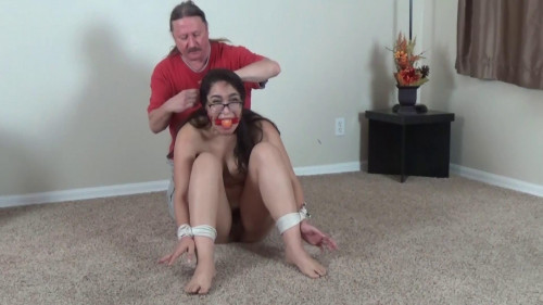 Step Dad Poked A Sex tool Down My Face hole!