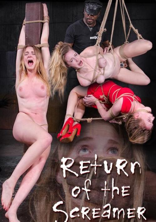 Return of the Screamer-rough rope bondage