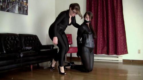 Paige Erin Turner & Elizabeth Andrews - Bound Into Fetish