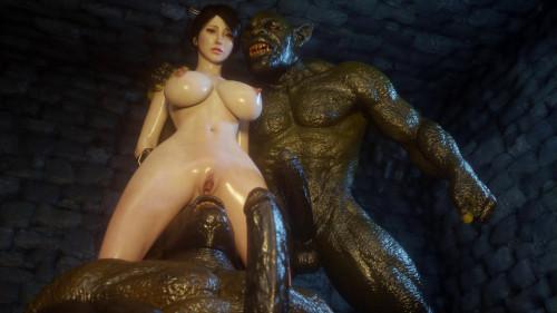 Secret of Beauty Kunoichi Edition 3D Porno