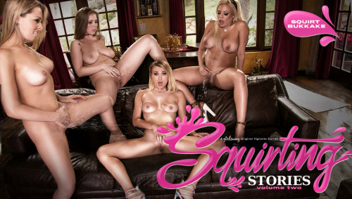 Squirting Stories Volume Two: Squirt Bukkake (2017) Lesbians