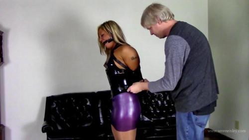Adara Jordin - Latex Outfit, Leather Bondage