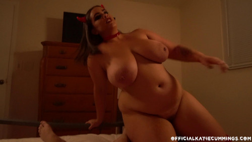 Katie Cummings - Red Devil's fuck BBW