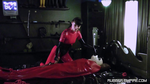 Collection of POWER EXCHANGE Scenes Rubber Empire part 1