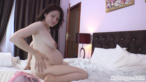 Anastasiya - MasturbationLeads to Painful Contractions Pregnant Sex