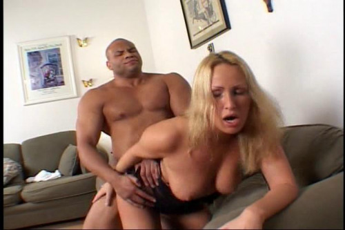 Two big black cocks for Mandy Bright